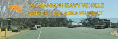 HEAVY VEHICLE DRIVER REST AREA STRATEGY