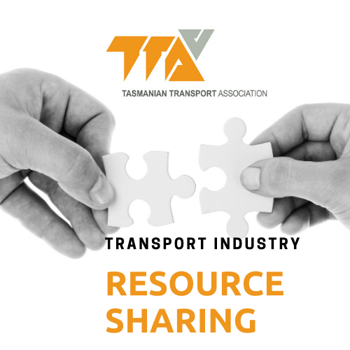 SHARING RESOURCES ACROSS TASMANIAN TRANSPORT BUSINESSES